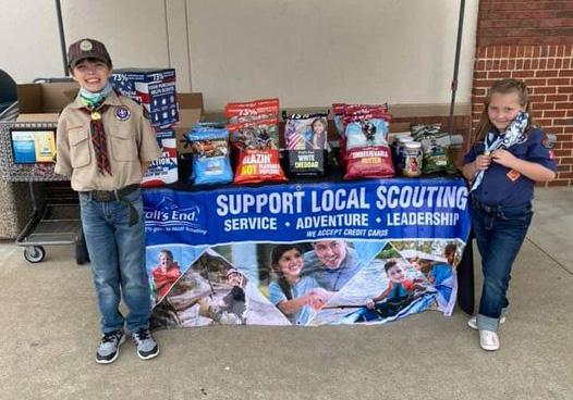 Boy Scouts in our Neighborhood